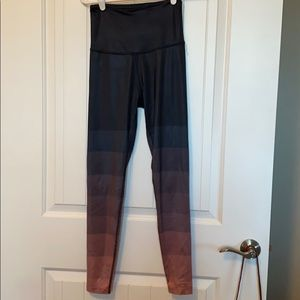 Beyond yoga ombré leggings